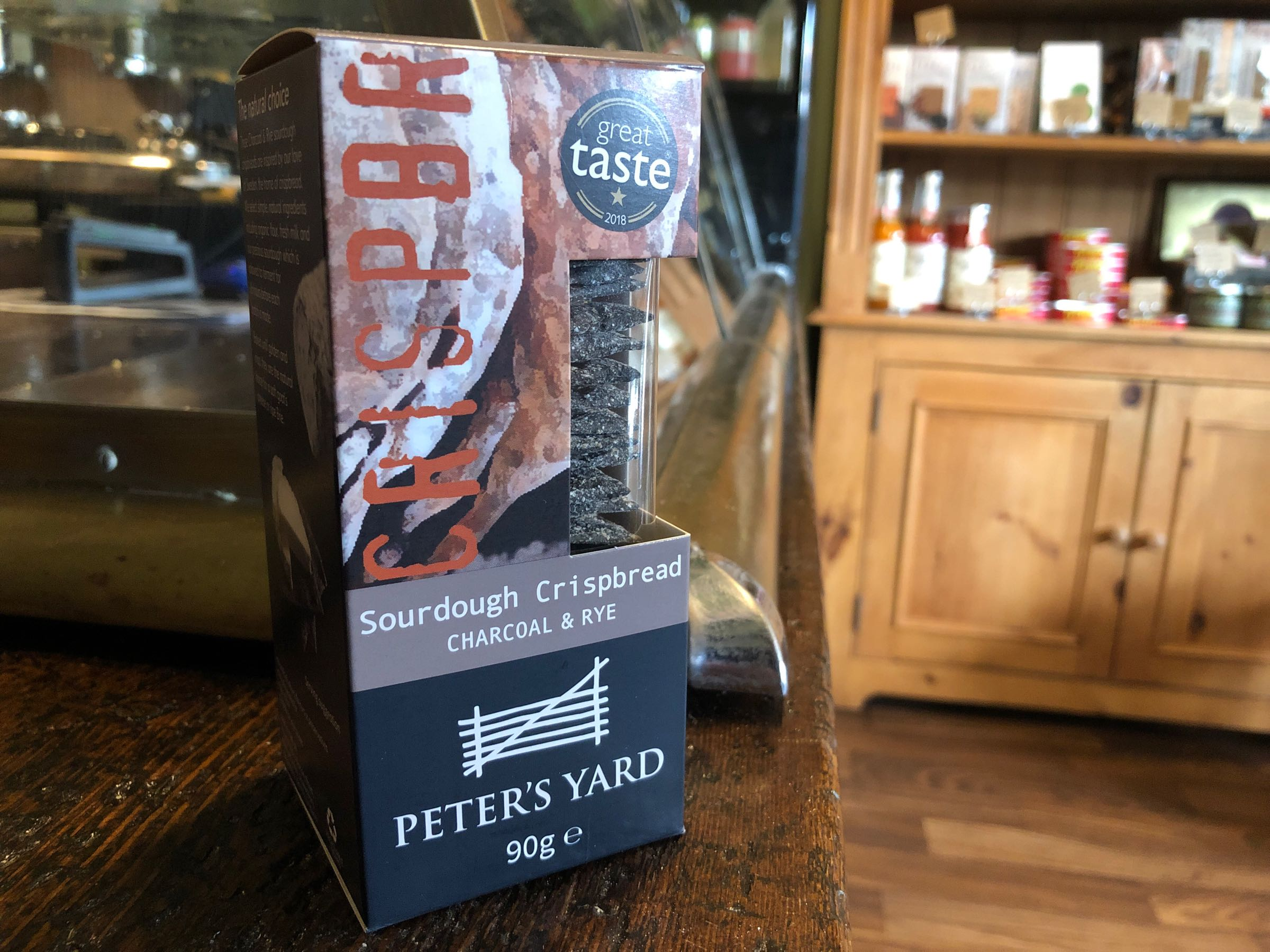 Peter's Yard Charcoal & Rye - Mini 90g