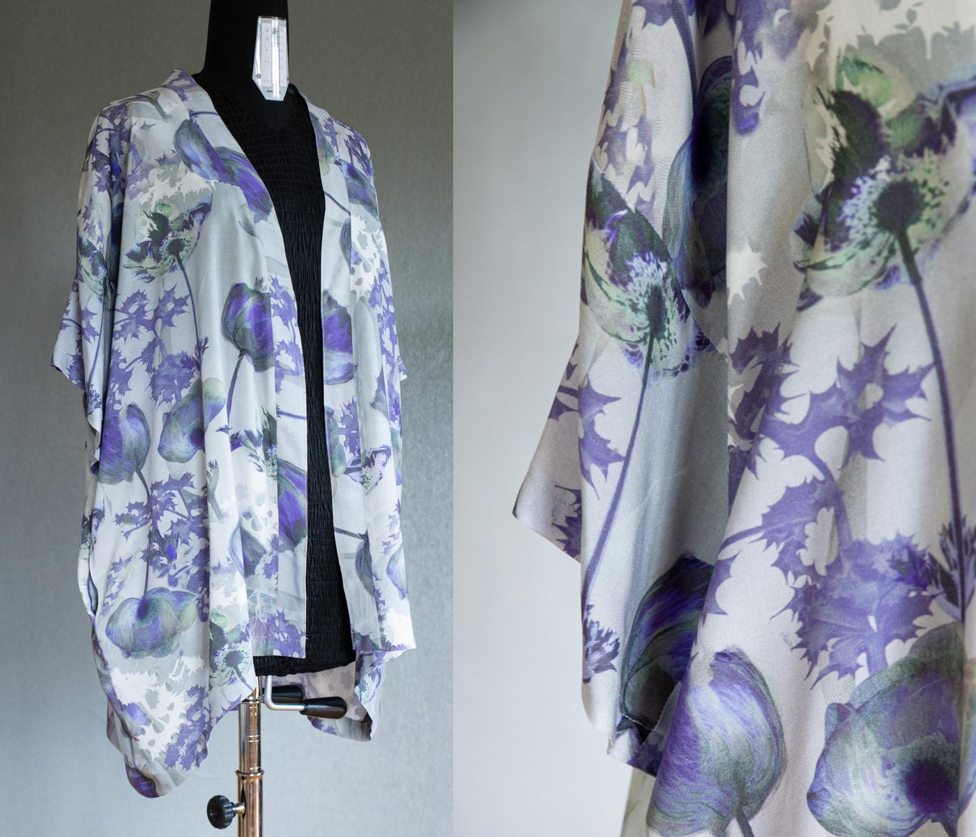 Grönkulla kimono. Storlek S/M