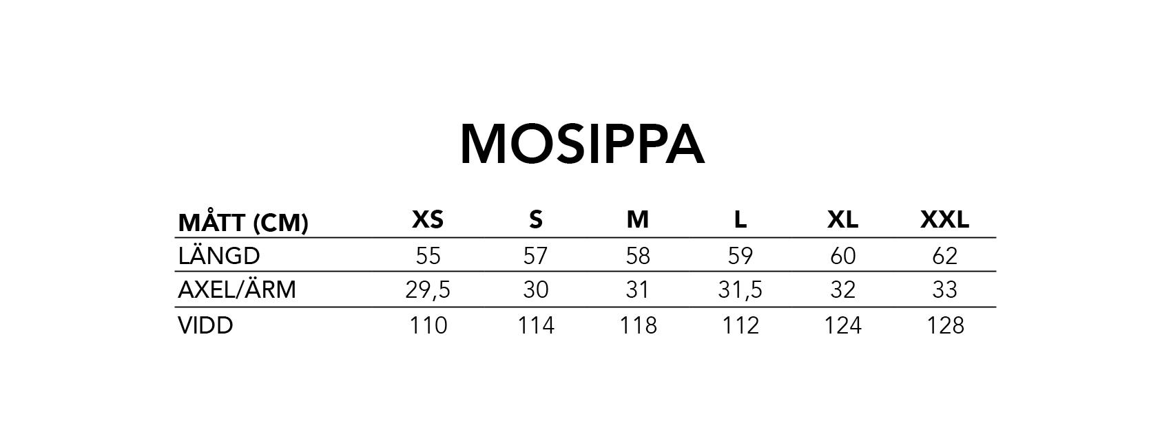 Mosippa | Plagg på besällning