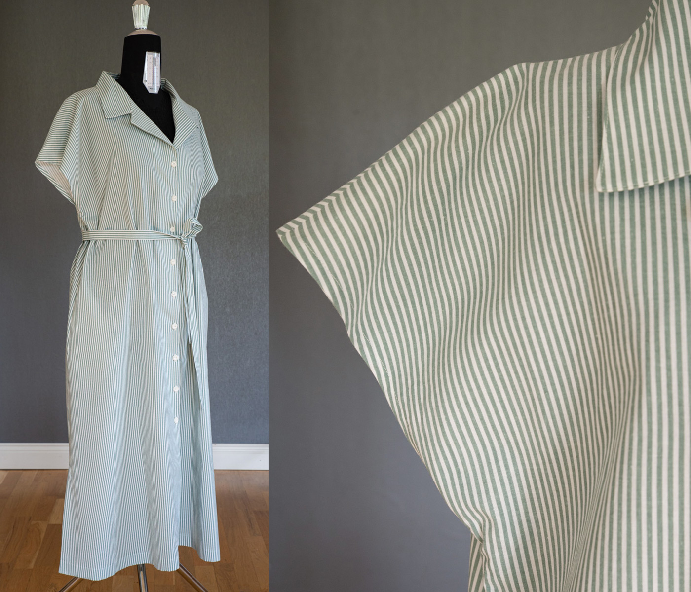 Skogsviol klänning. Storlek L