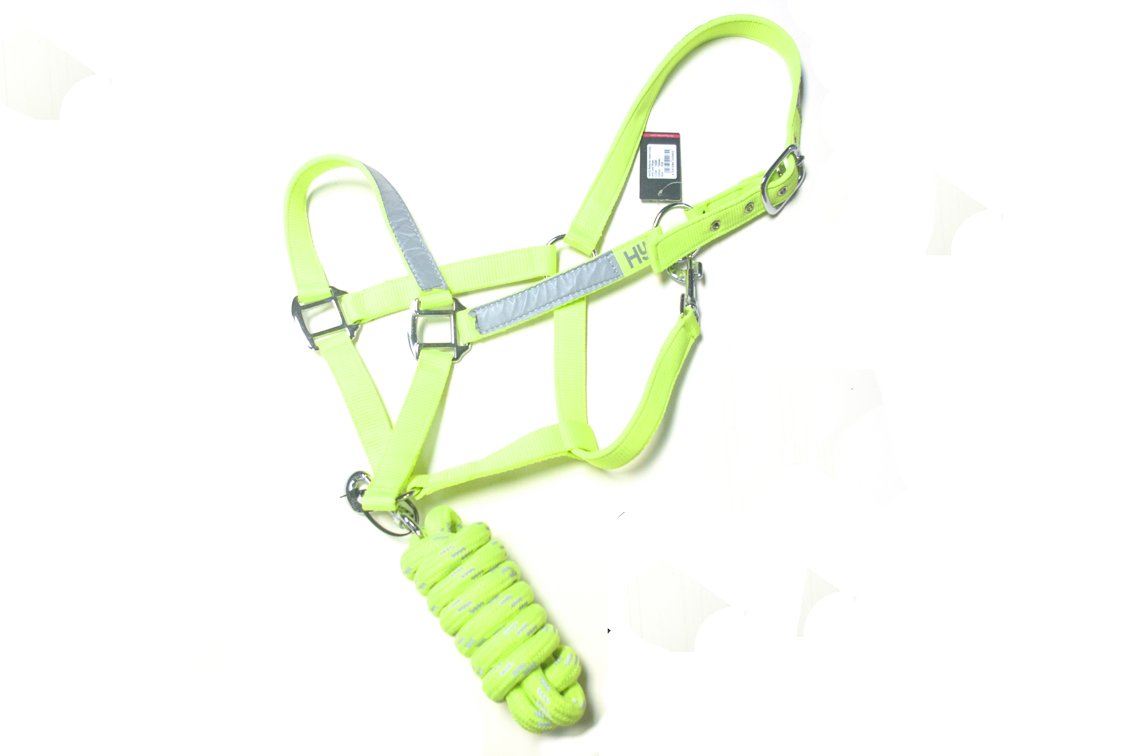 Hy Hi Vis headcollar and lead rope set