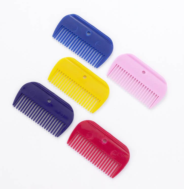 Short Plastic Mane Comb