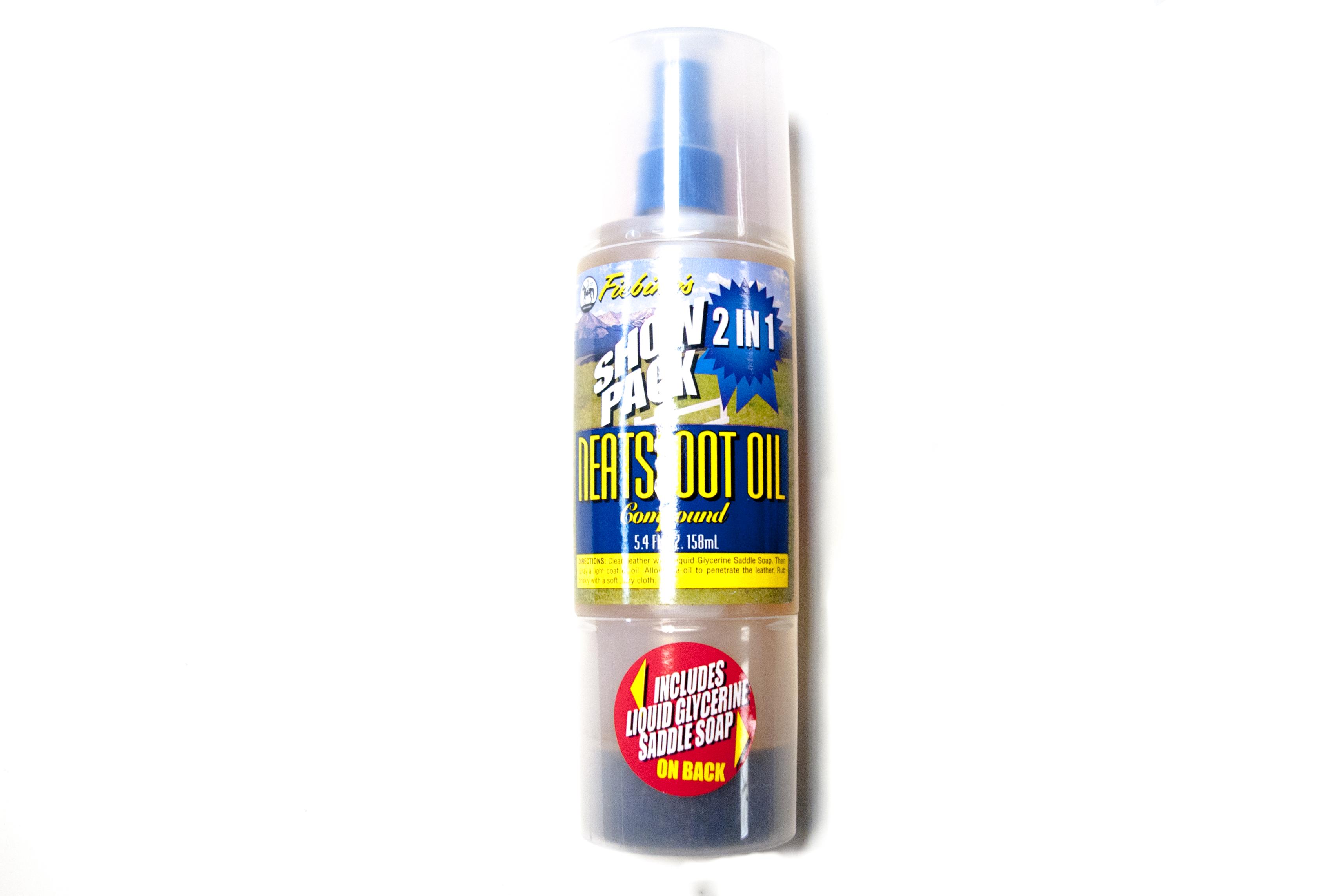 Feibings Saddle soap/neats foot oil
