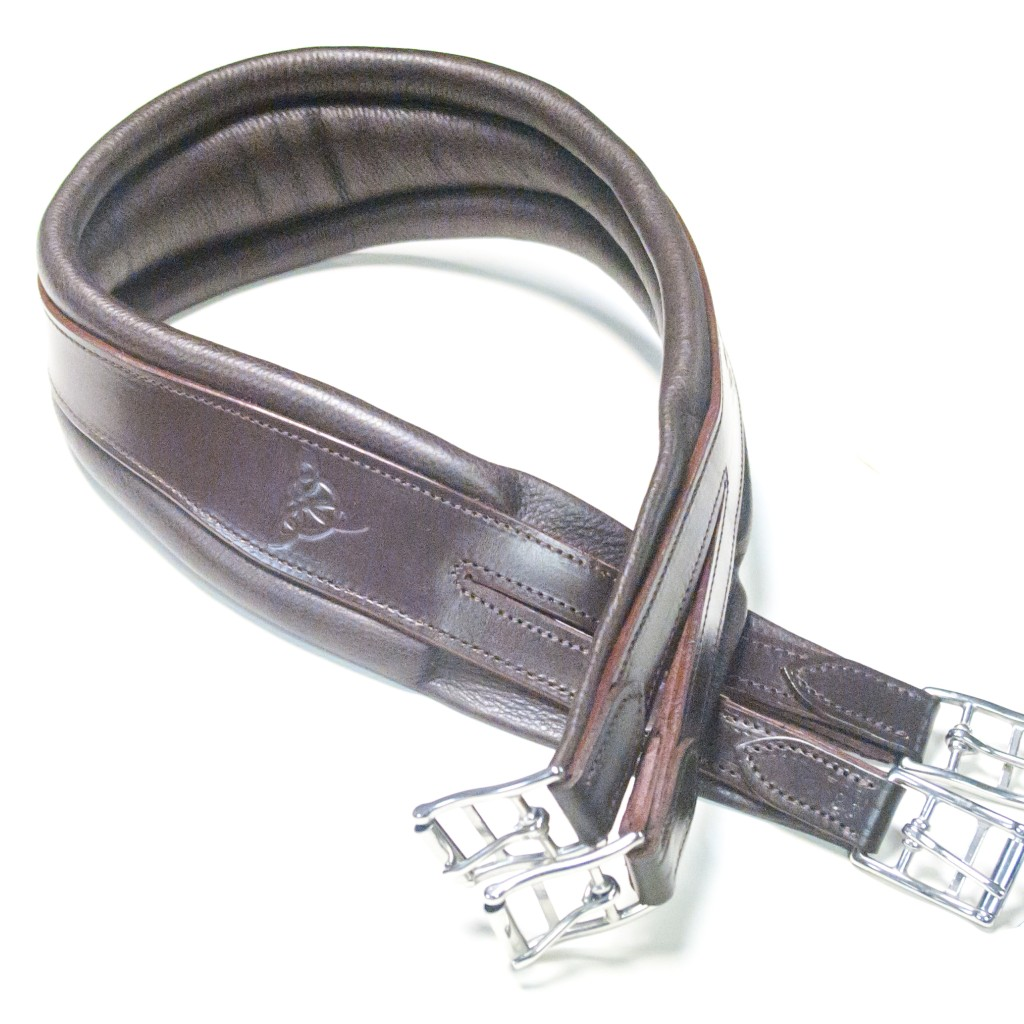 Bliss Atherstone Leather Girth