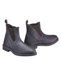 Harry Hall Recife Waxy Jodphur Boot Black