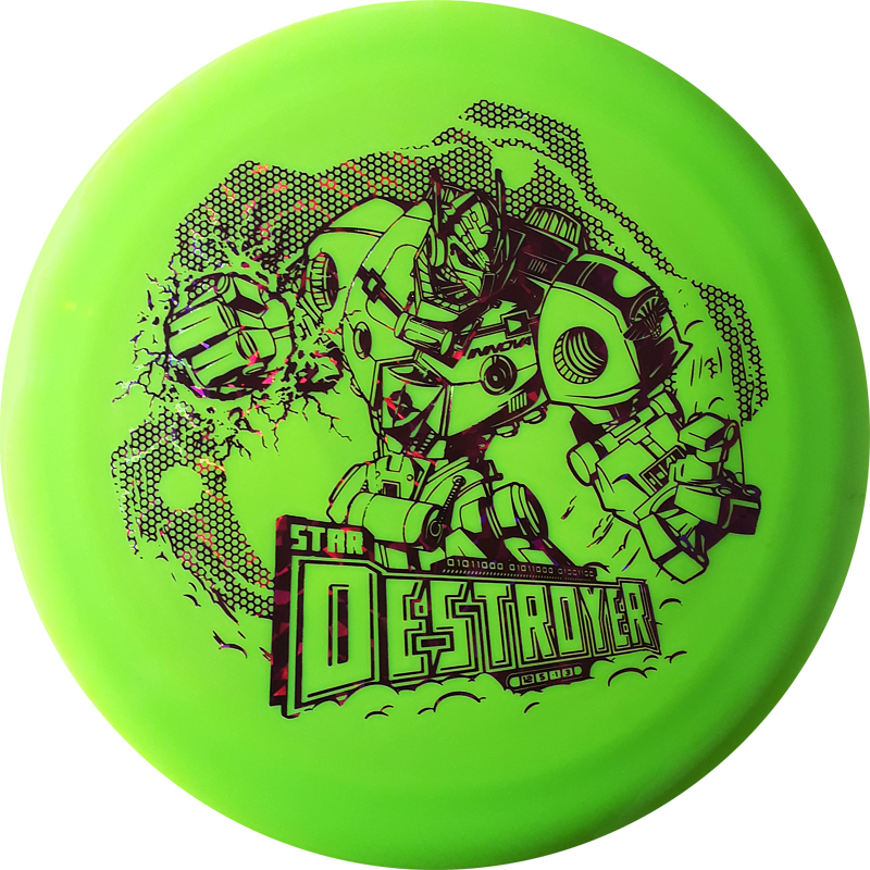 Destroyer XXL Stamp Star