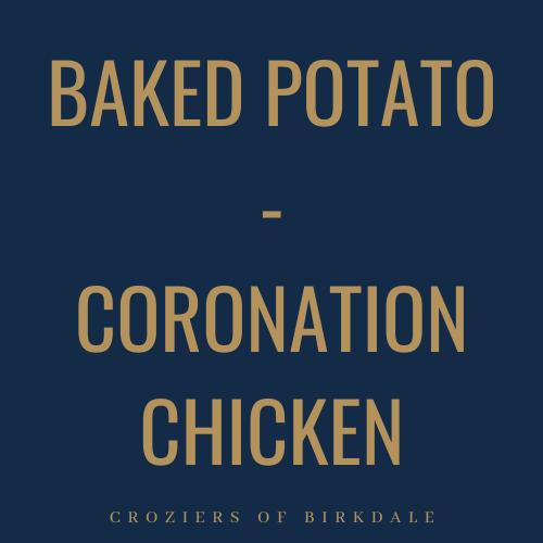 Coronation Chicken - Baked Potato