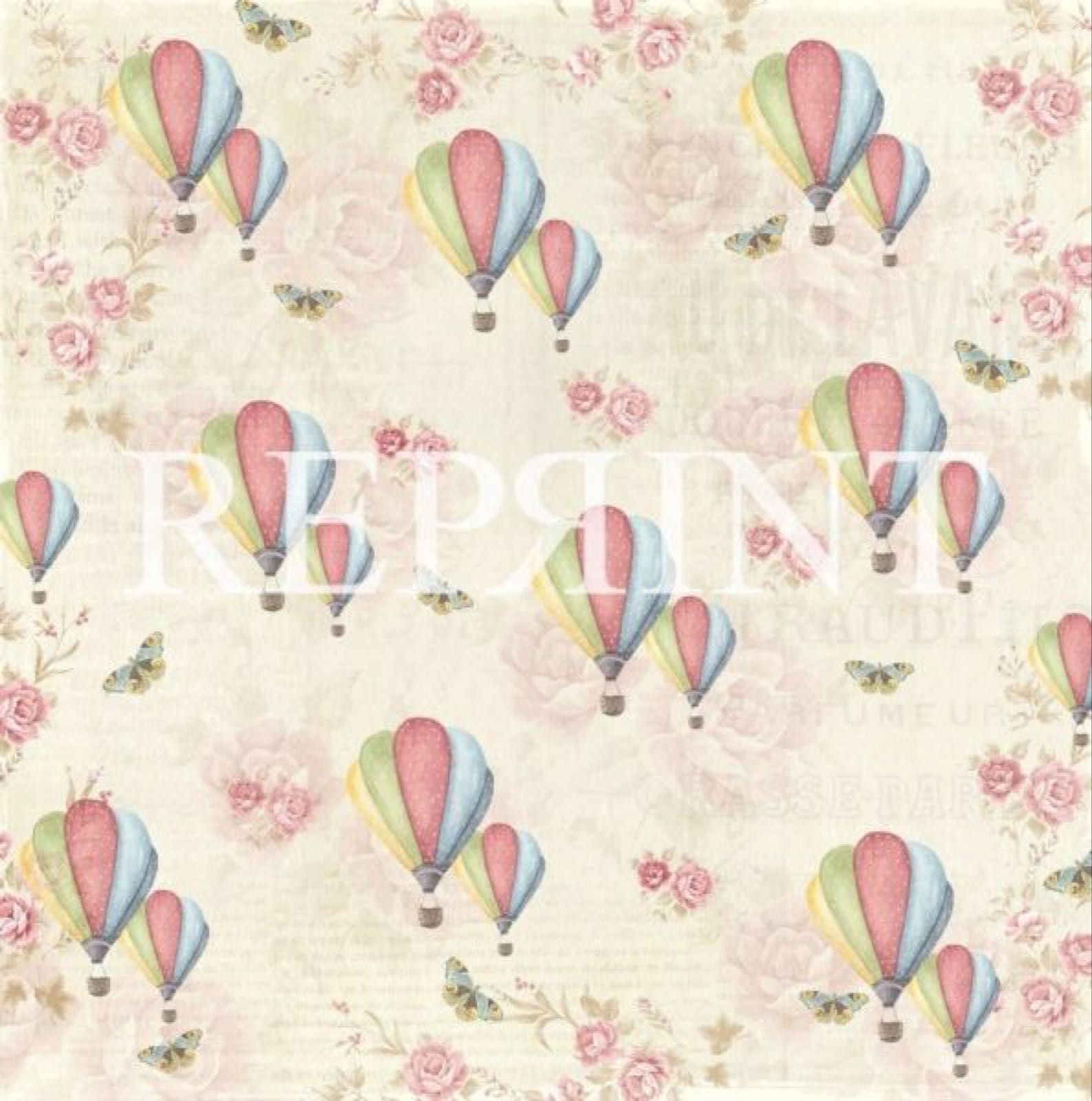 Reprint Spring blossom « up in the air rp0222 »
