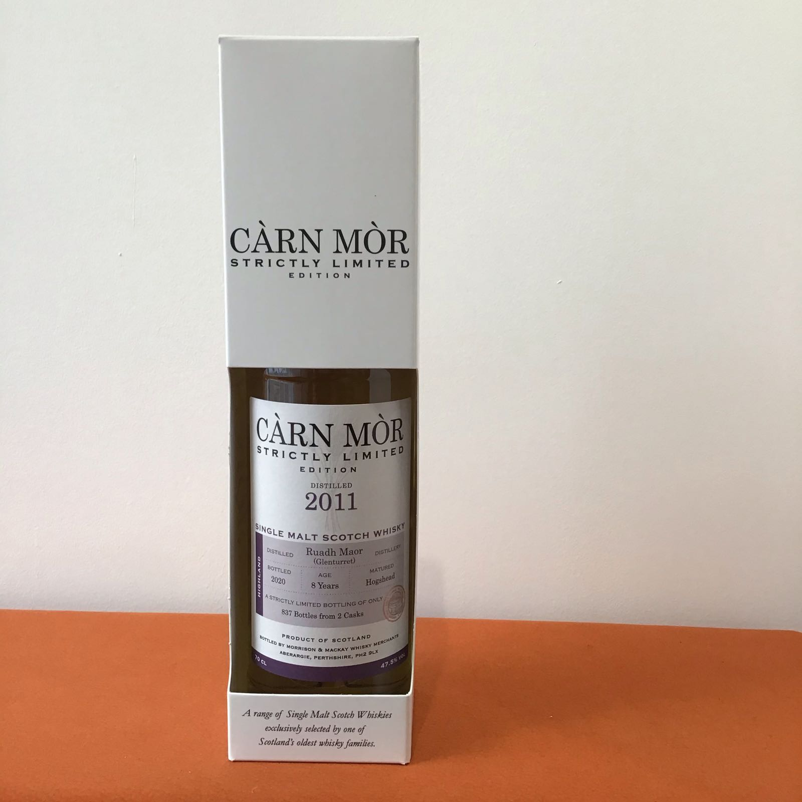 Carn Mor Strictly Limited: Ruadh Maor 2011 (8year old)