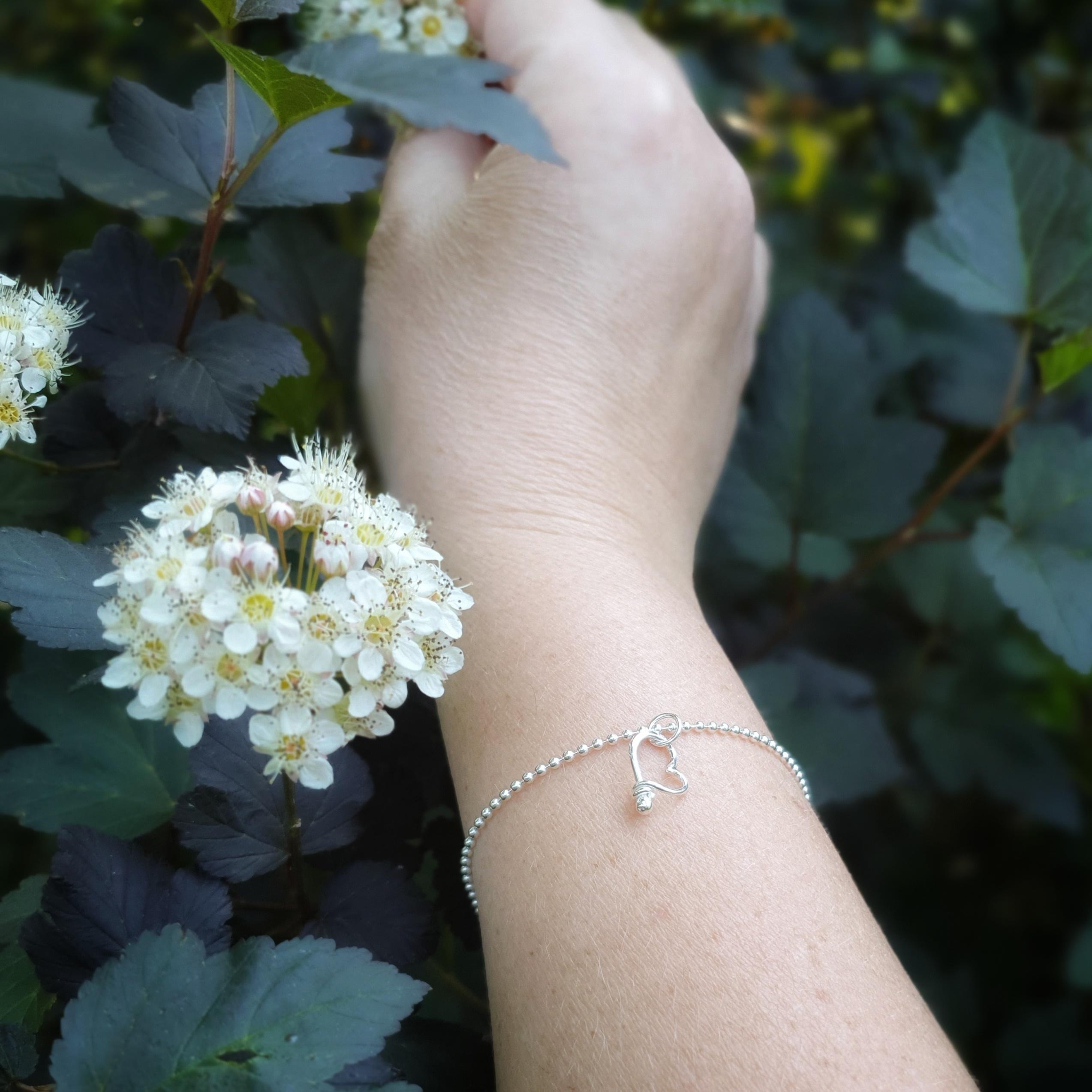 Armband Lilla Hjärtat