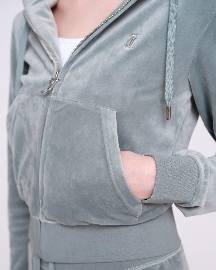 Hoodie, Juicy Couture, Zip Through Hoodie