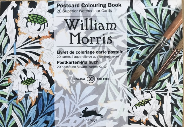 William Morris Postcard Colouring Book