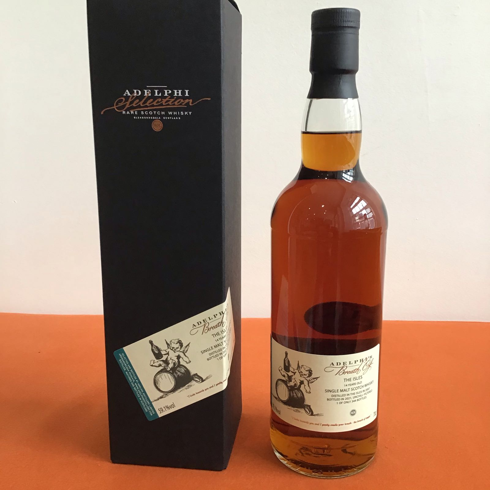 Adelphi's Breath of the Isles  (2007) 14 Year Old