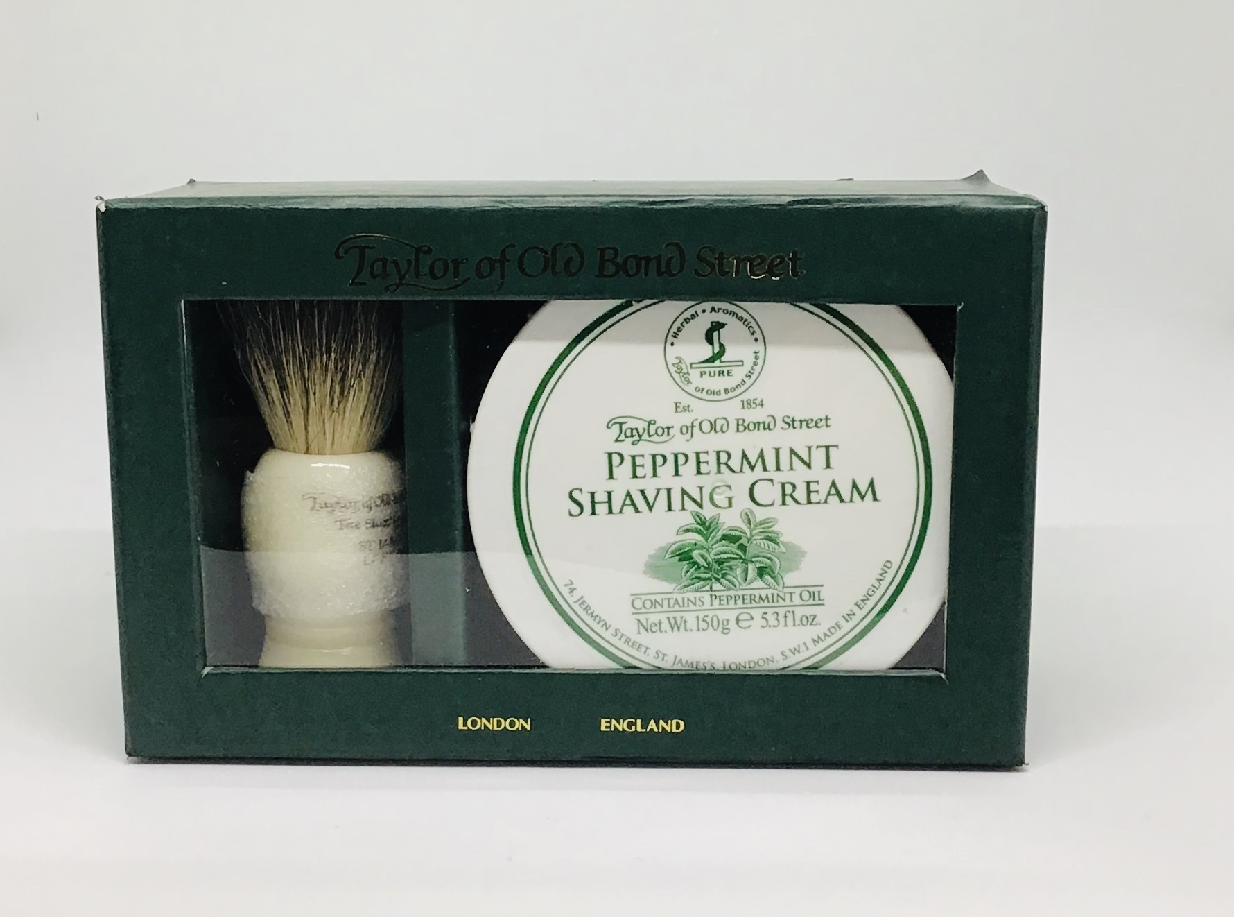 Taylor's shaving cream & brush set