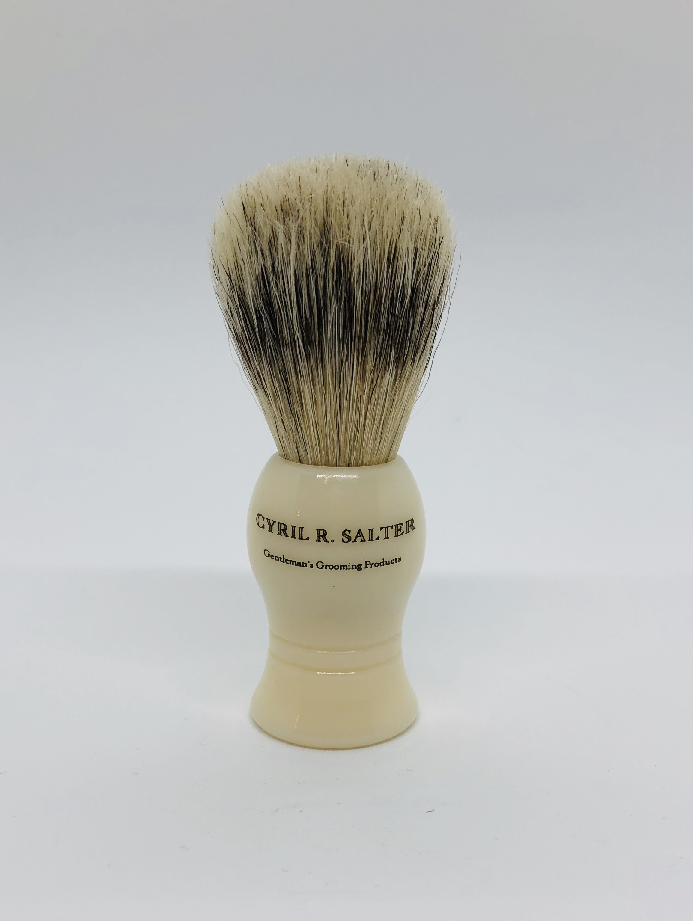 Cyril cream bristle & badger brush