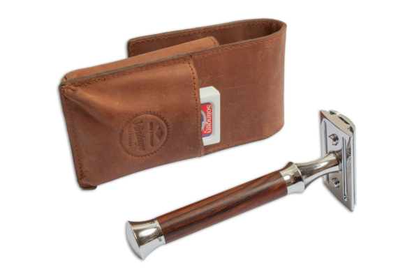 Giesen blades and razor leather case