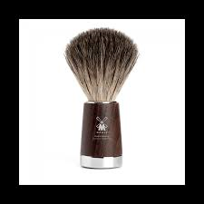 Muhle Ash Pure Badger Wooden handle shaving brush
