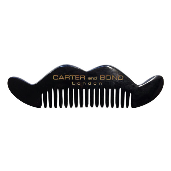 Carter & Bond moustache comb