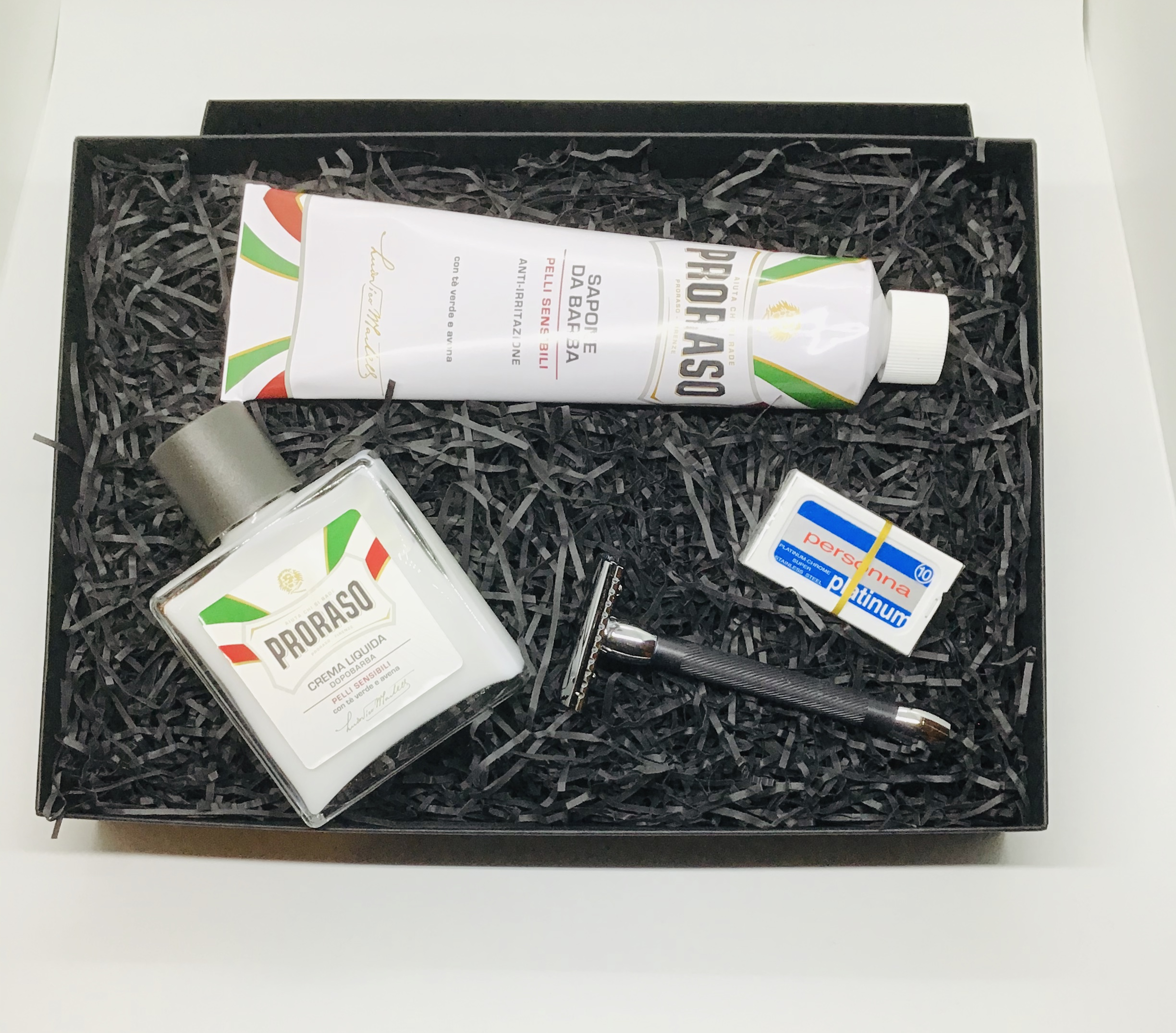 Merkur 20 Proraso kit Gift box