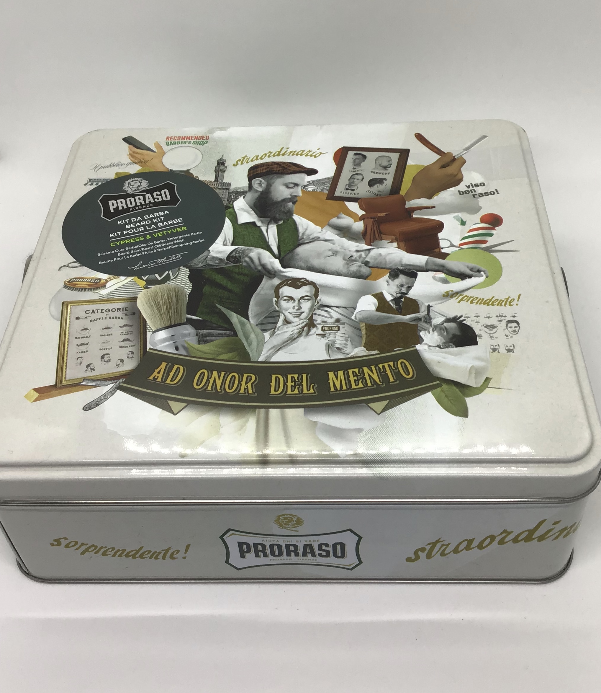 Proraso Beard tin