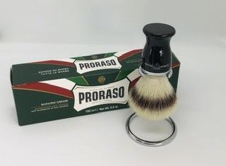 Easter offer synthetic shaving brush bundle