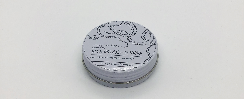 Sandalwood Elemi & Lavender Moustache wax extra firm 30g sandalwood Elemi & lavender