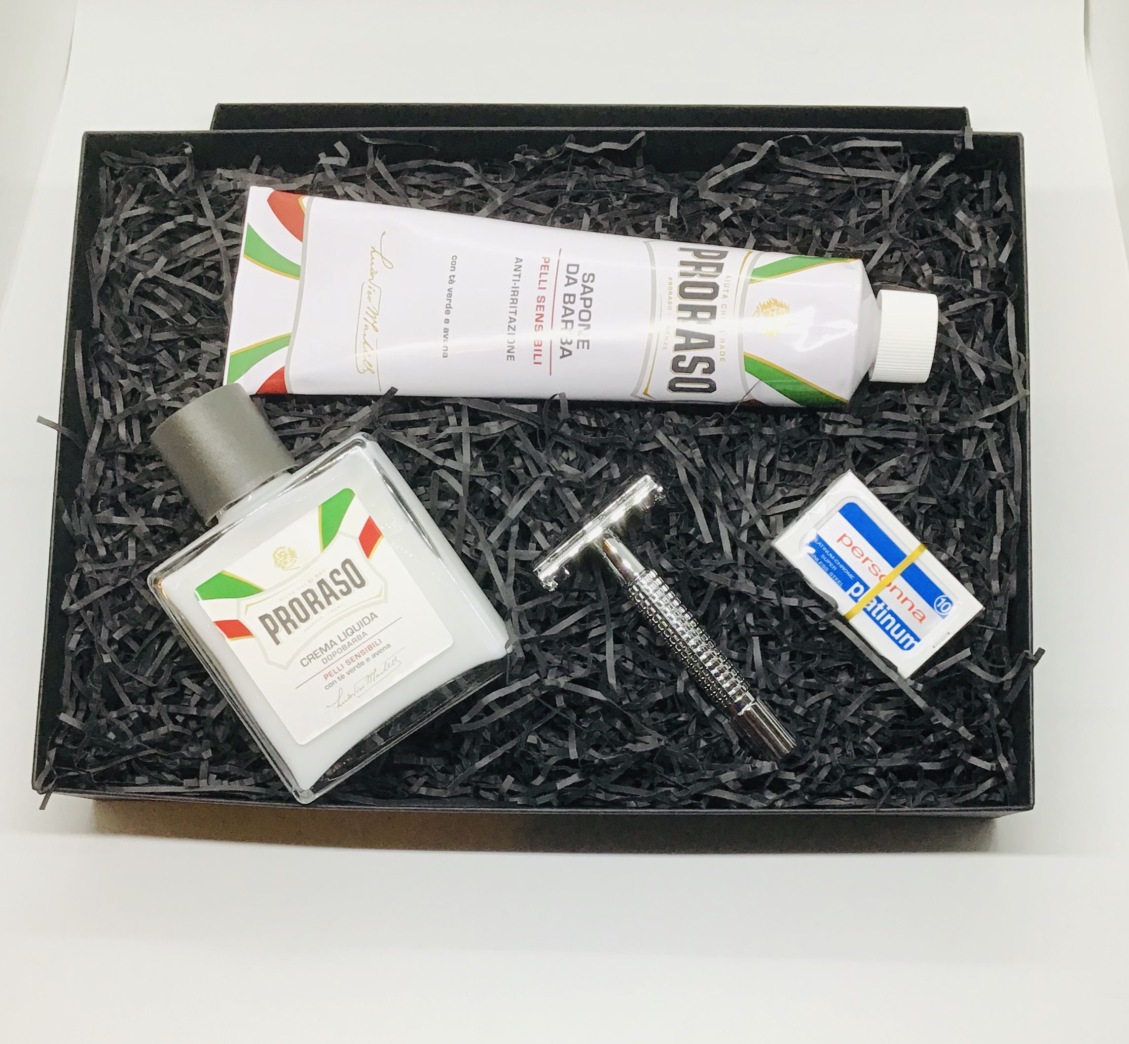 Butterfly Proraso kit shaving gift box