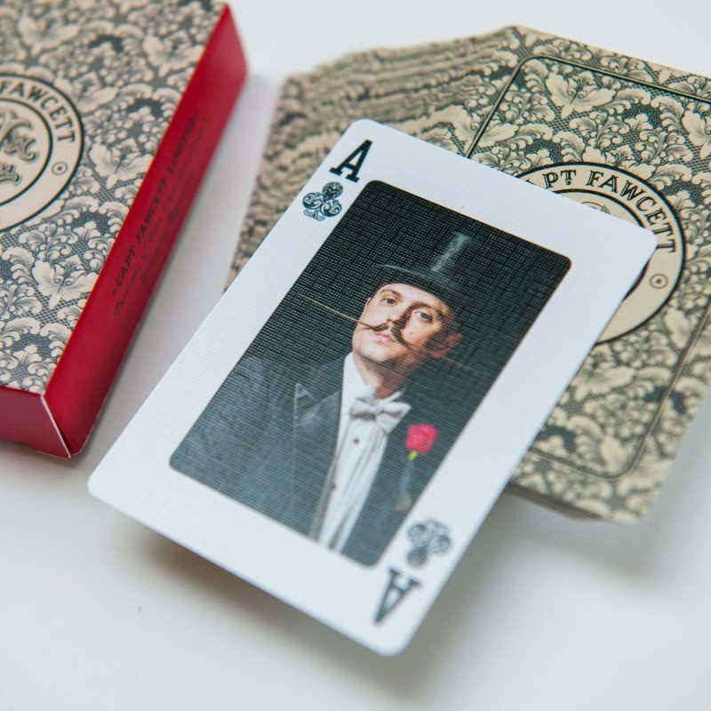 Beardy & Moustache playing cards