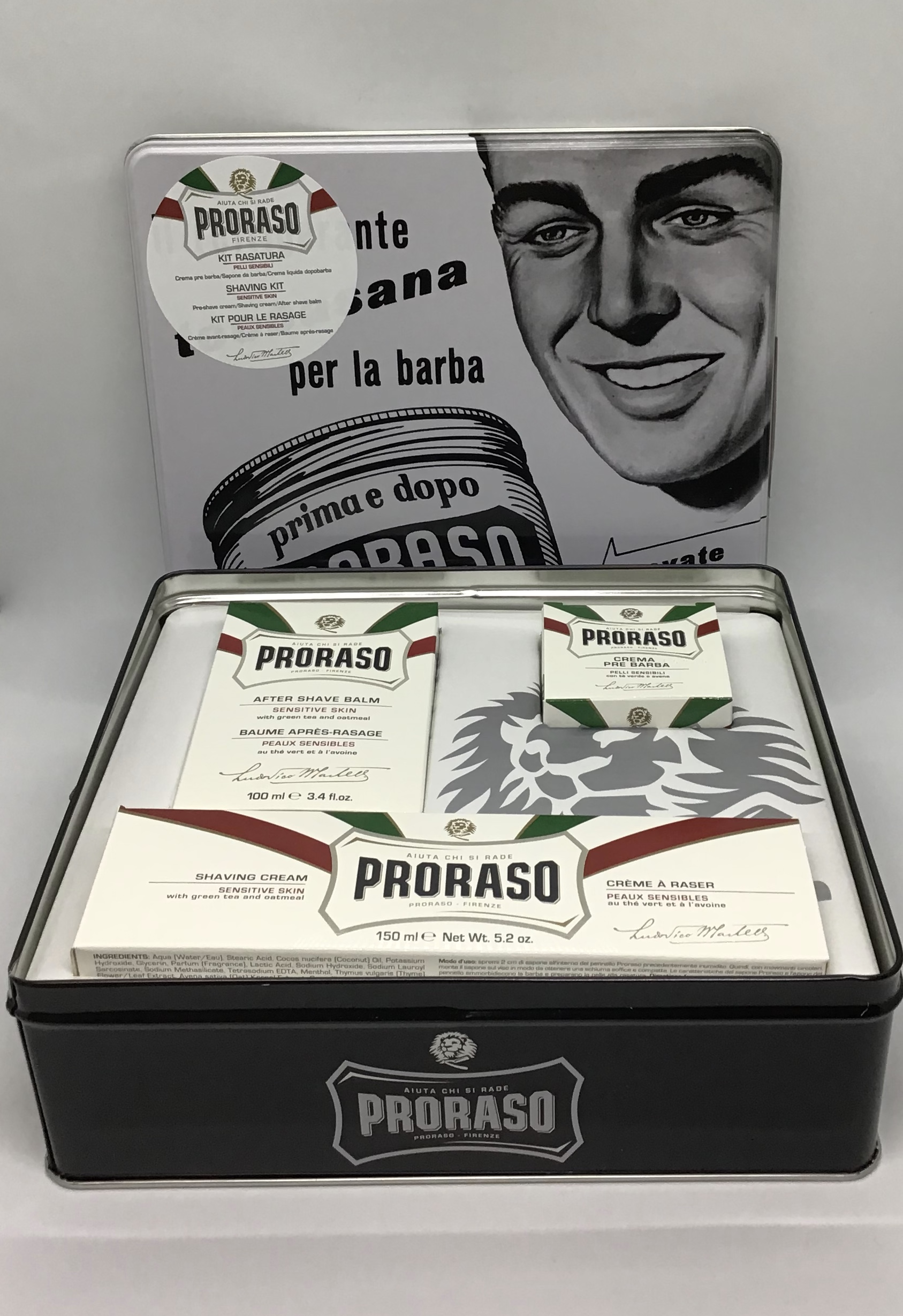 proraso vintage tin