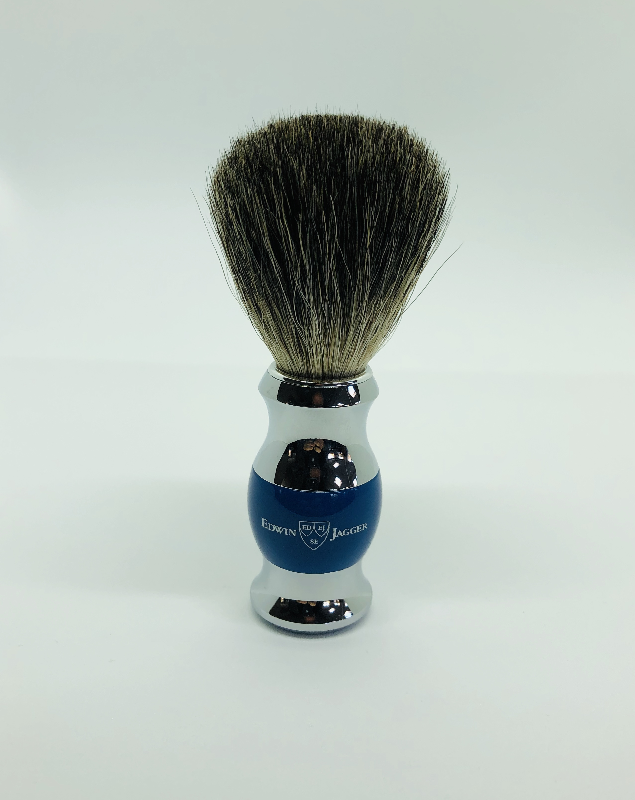 Edwin jagger 2 part chrome pure badger brush
