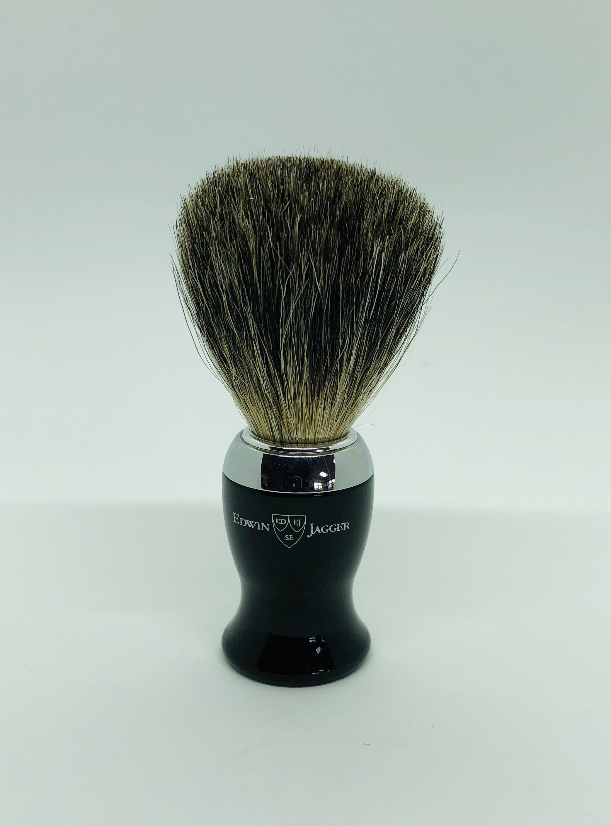 Edwin jagger 1 part chrome pure badger brush