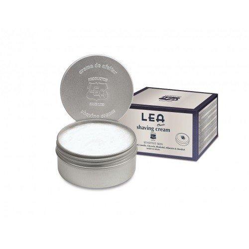 LEA shaving cream tin
