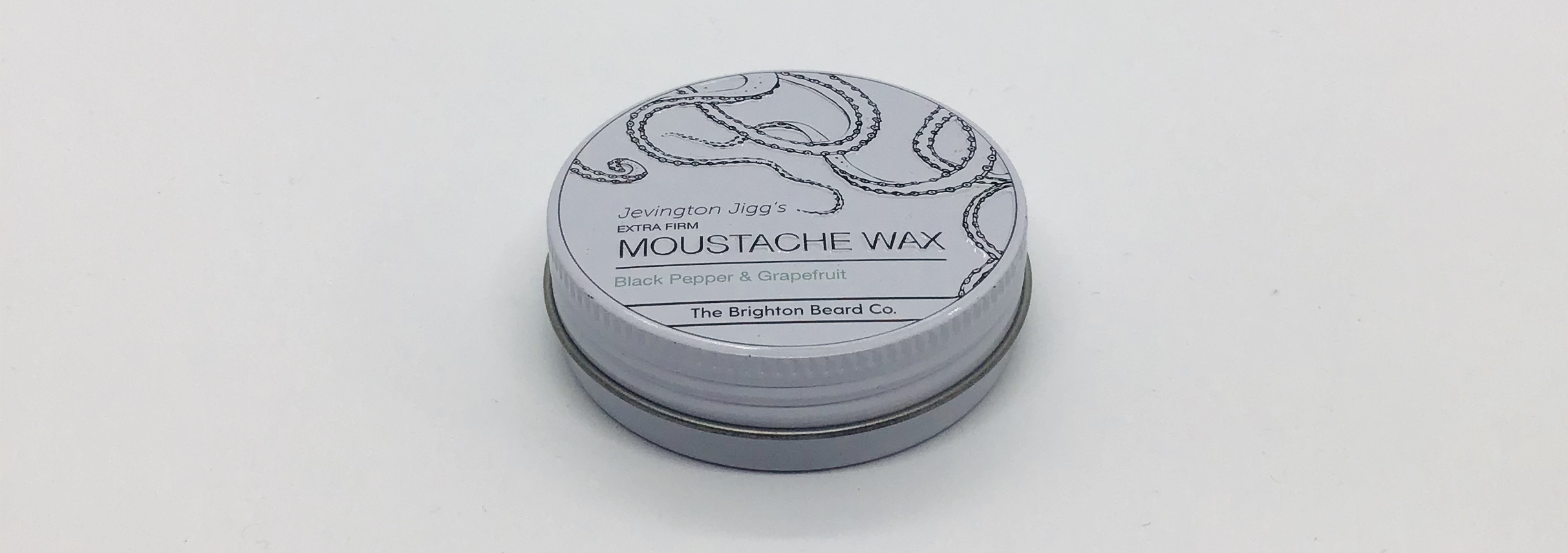 Moustache wax extra firm grapefruit & blackpepper