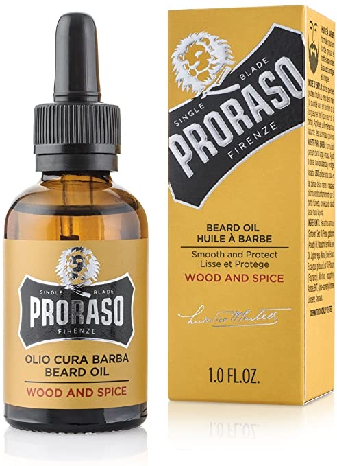 Proraso Beard Oil Wood & Spice