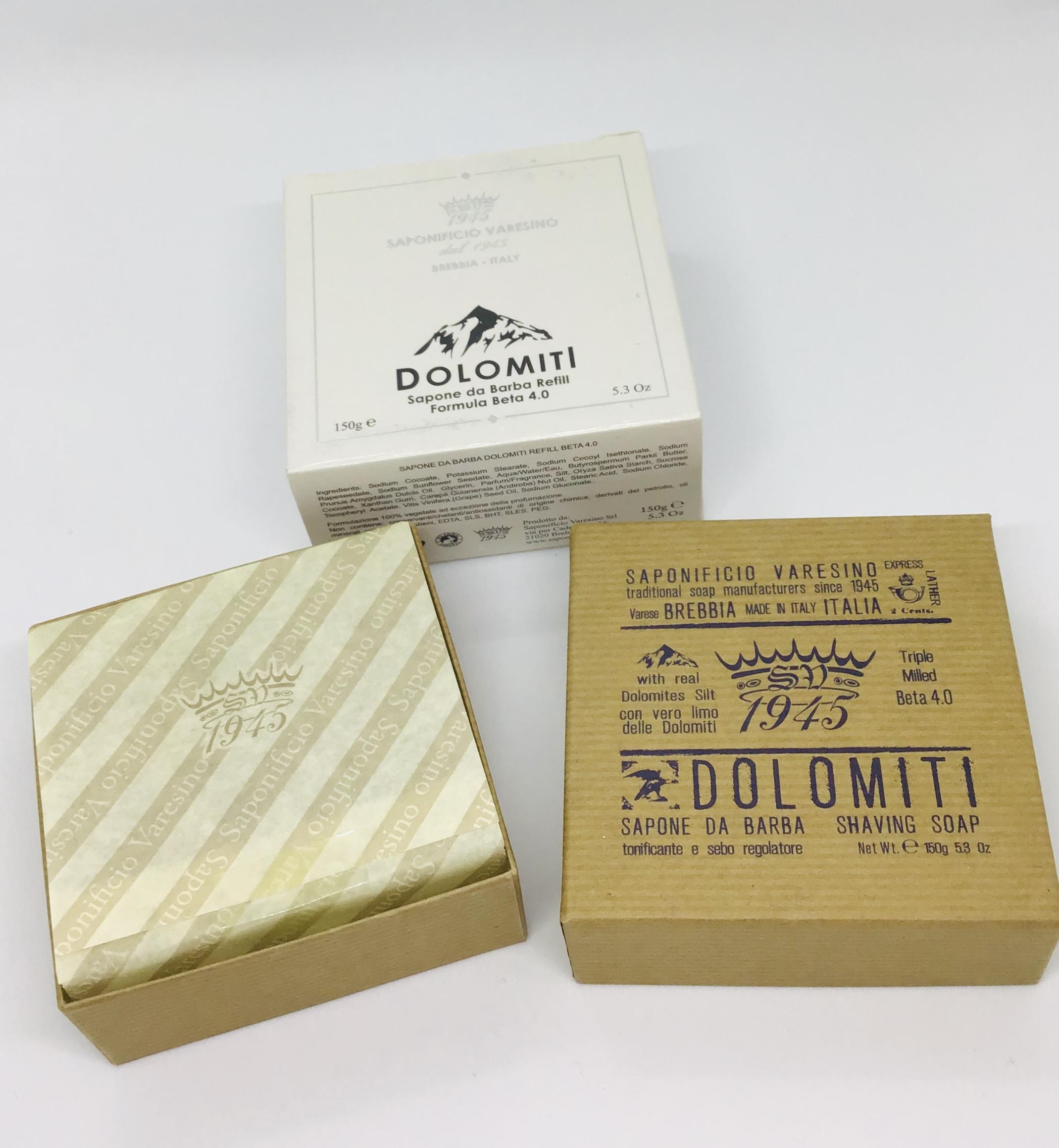 Dolomiti shave soap