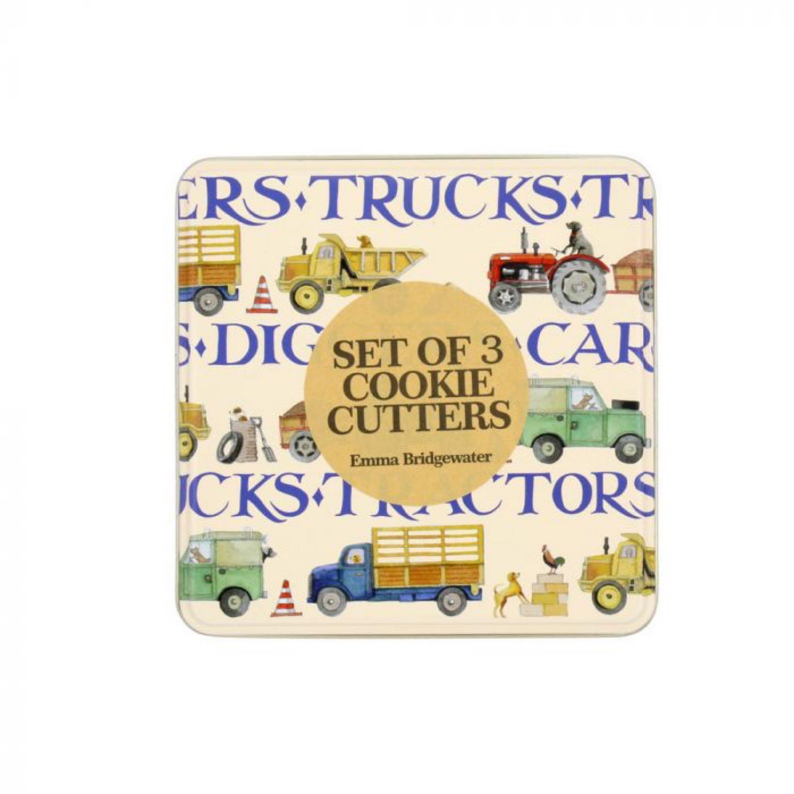 Emma Bridgewater Tractor Set of Cookie Cutters