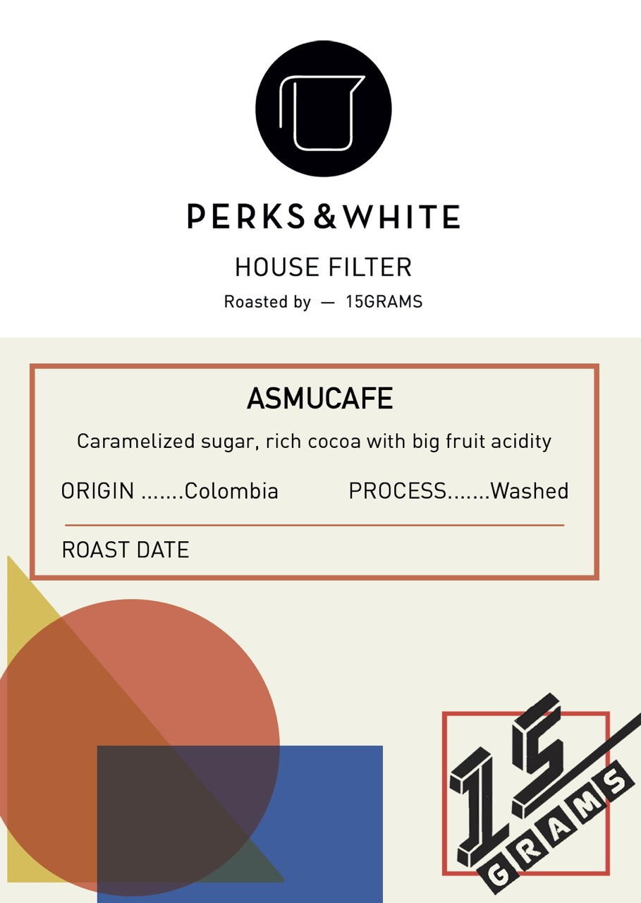 3) P&W/15grams House Filter coffee