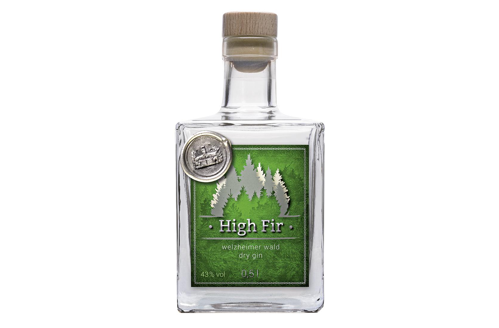 High Fir Gin 0,5 l