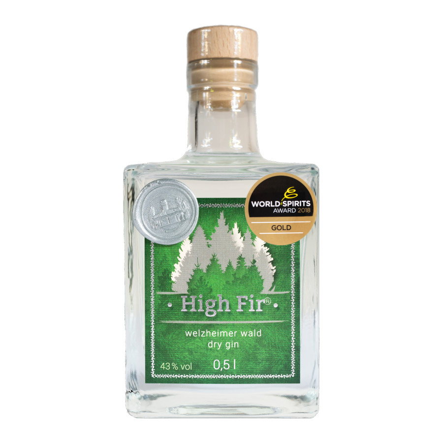 High Fir Gin 0,5 l
