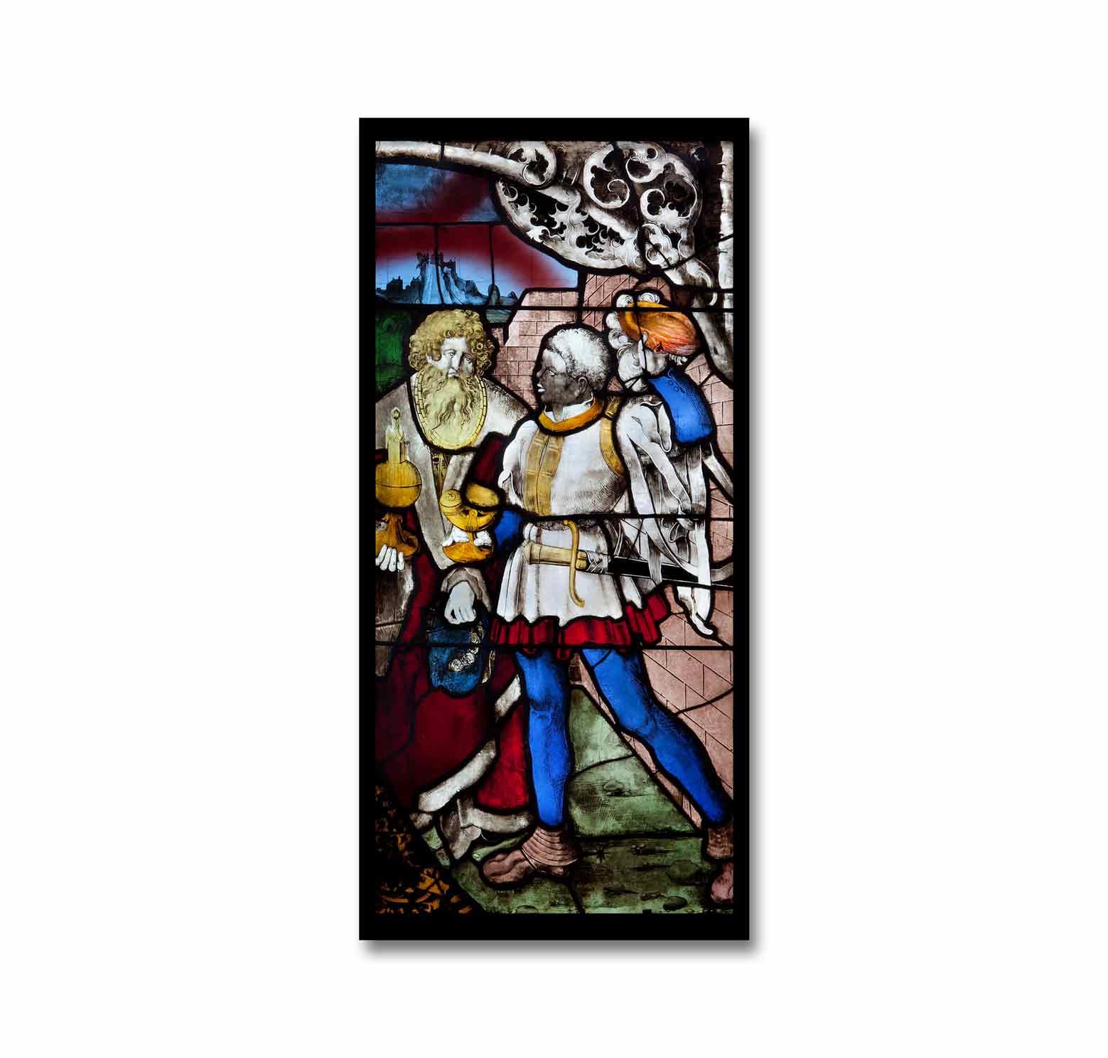 Fensterfolie Drei Könige