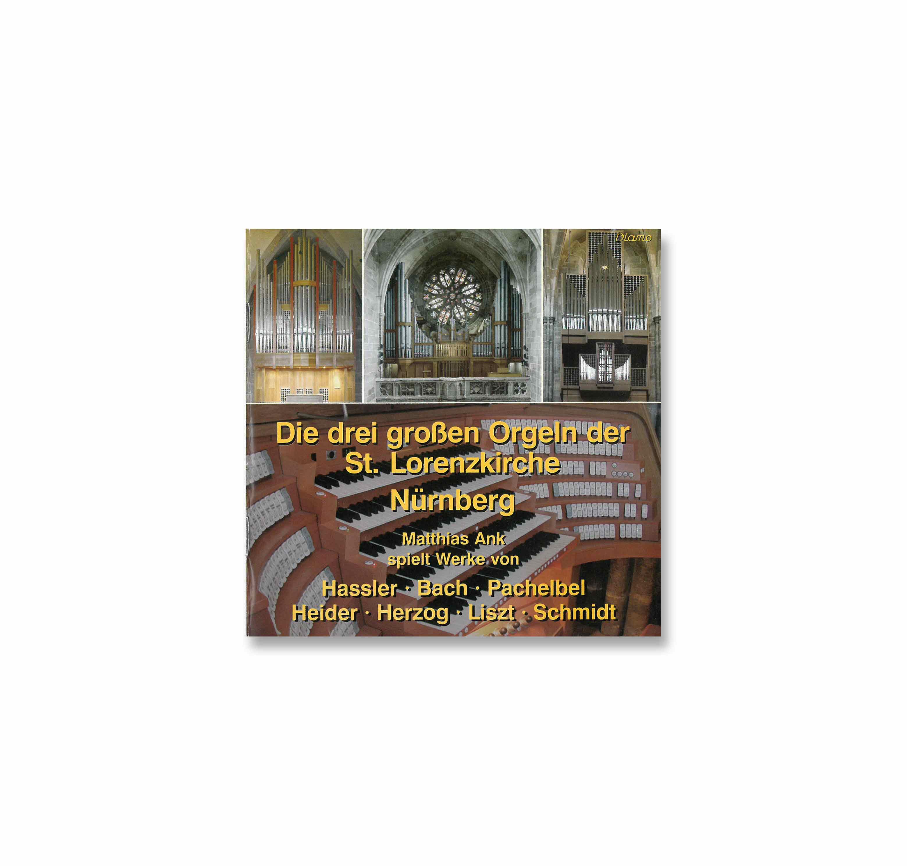 CD Die drei Orgeln