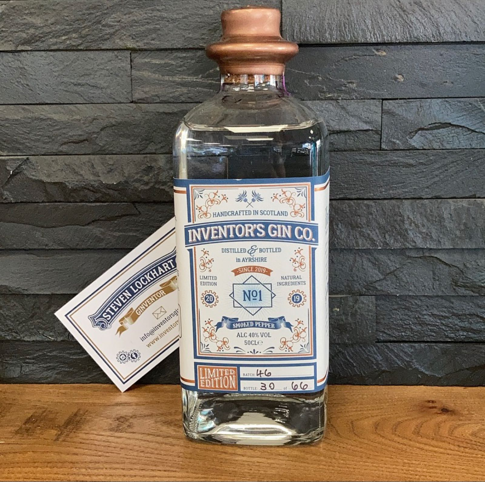 Inventors Gin 50cl