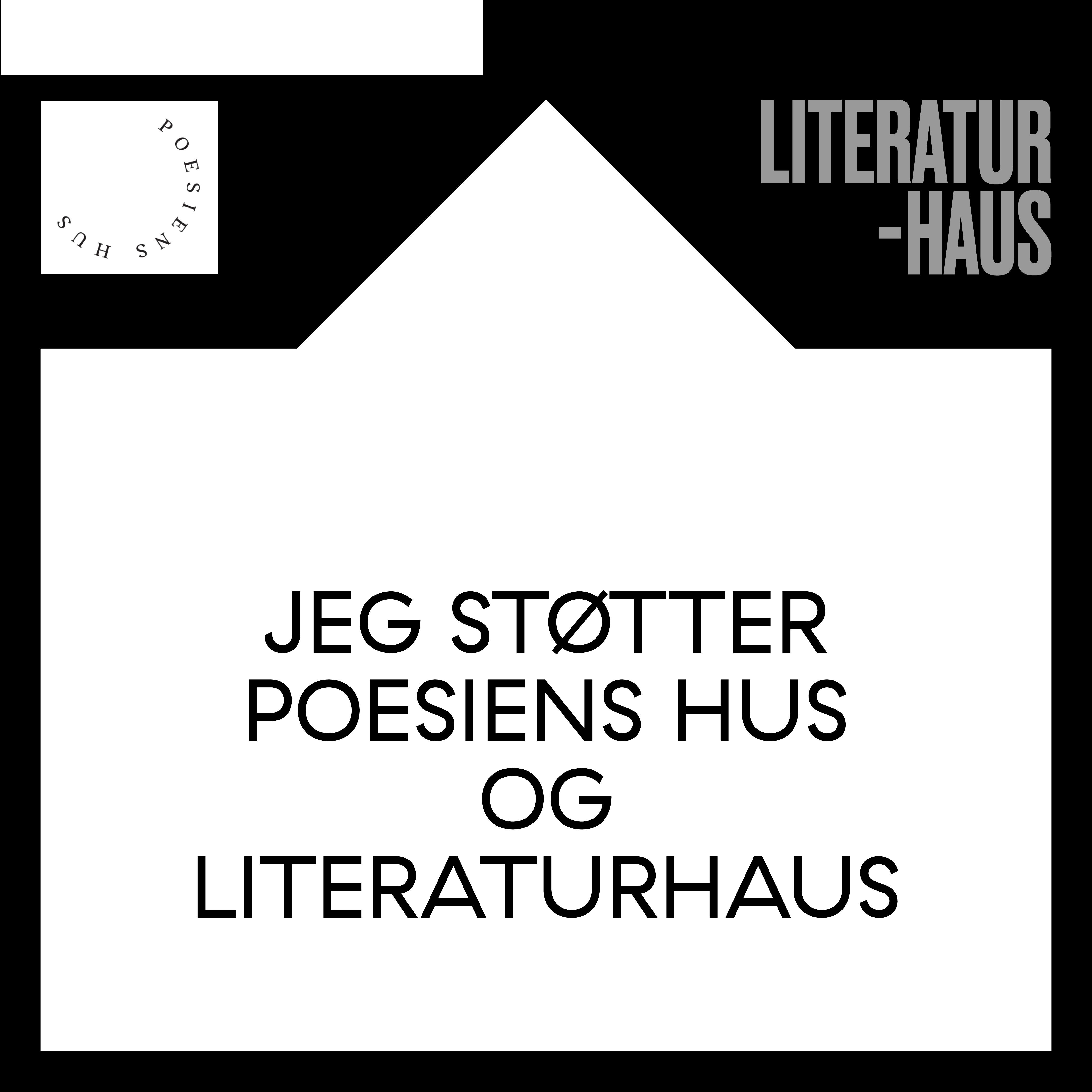 Ansigtsmaske og medlemskab: LiteraturHaus og Poesiens Hus