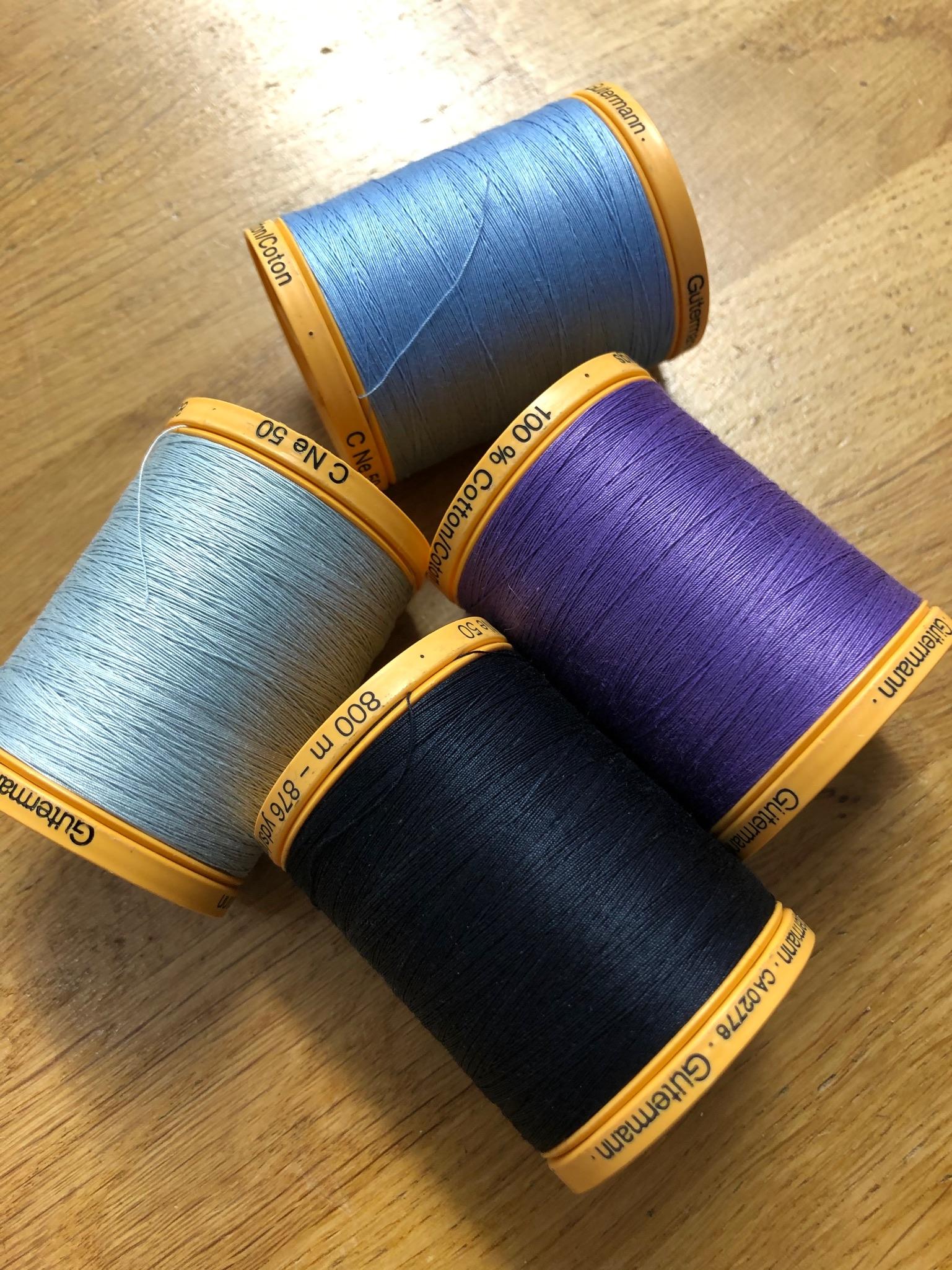 Gutermann Natural Cotton Thread 800m