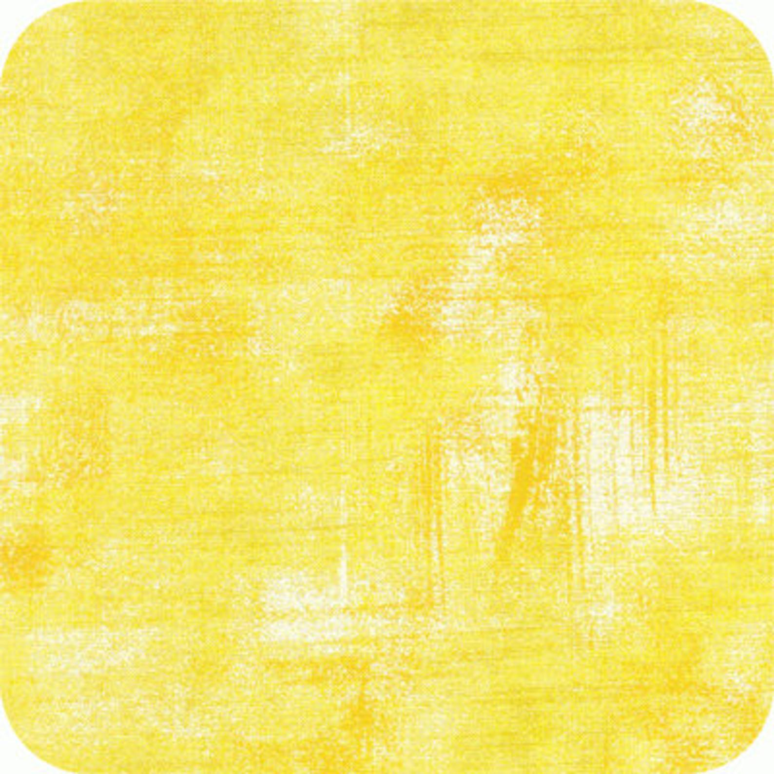 Moda Grunge Lemon Drop 1.50m remnant piece