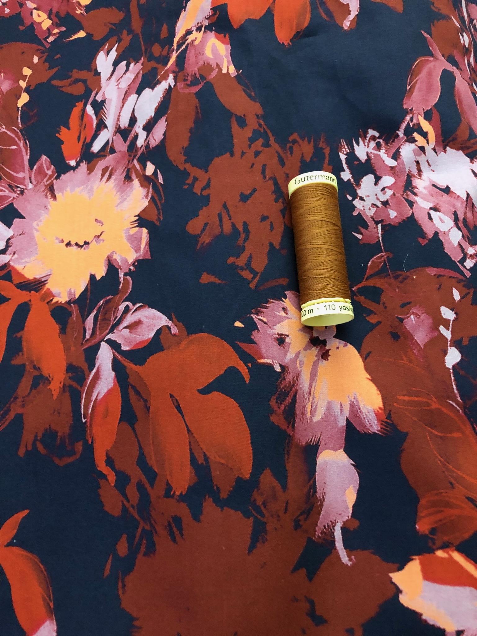 Autumn Cotton Sateen