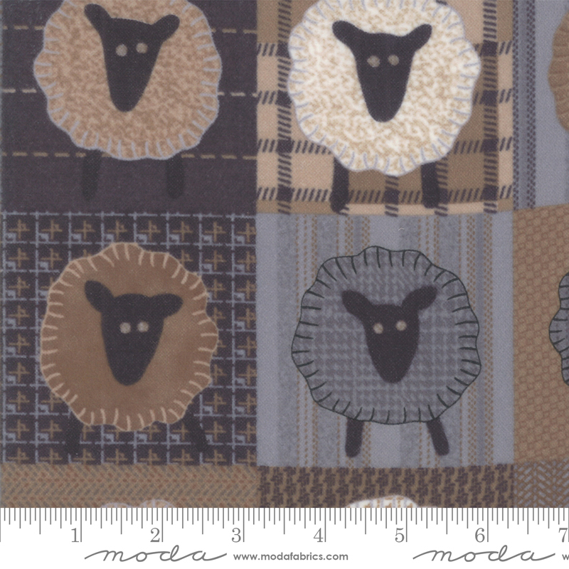 Sheep Farmhouse Flannel from Primitive Gatherings