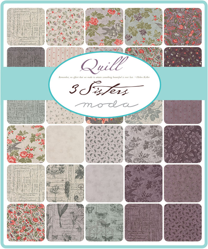 Moda Quill by 3 Sisters
