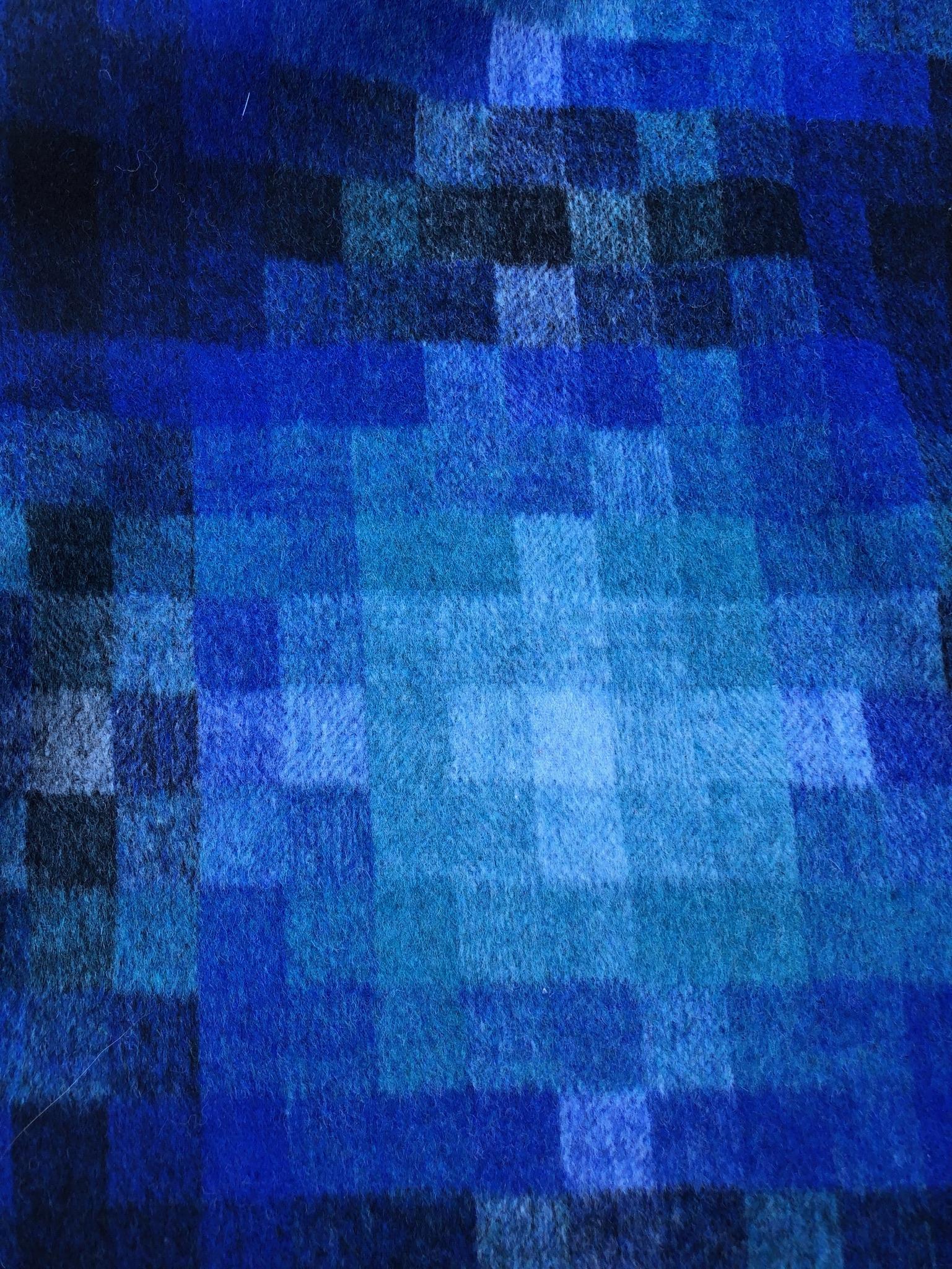 Argyll Blue Poly/Wool
