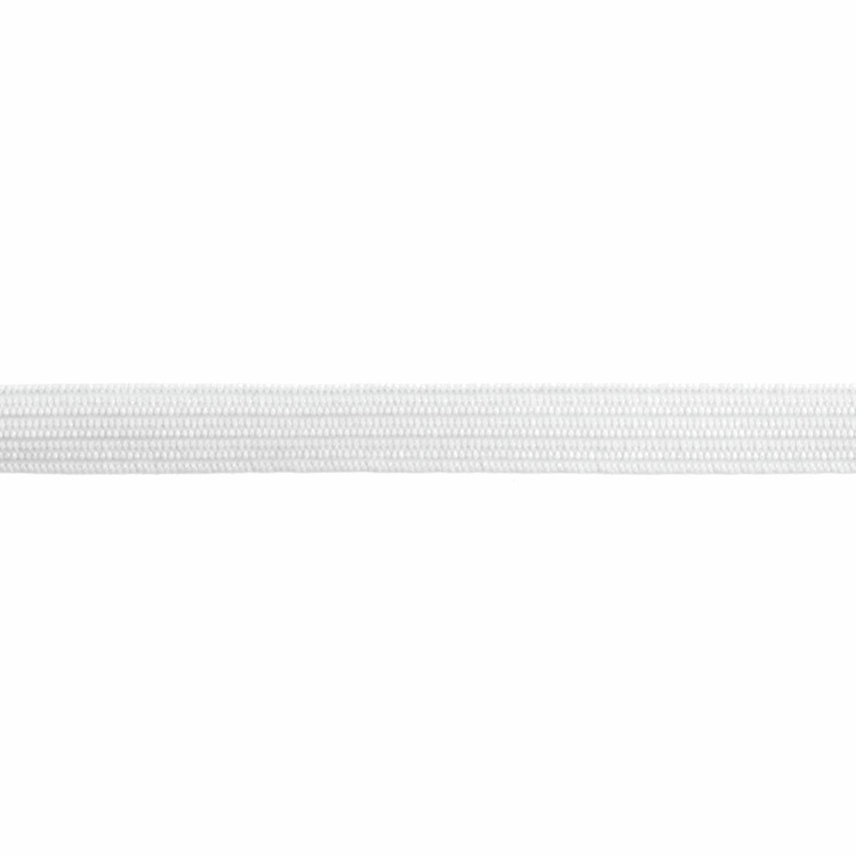 Elastic 5mm White braided